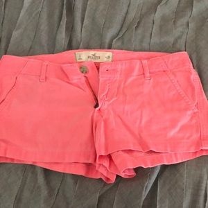 Hollister pink shorts